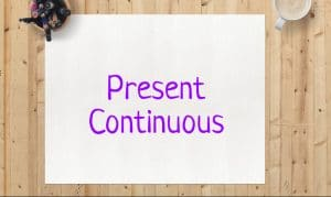 Образование и употребление Present Continuous