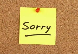 Как извиниться на английском языке