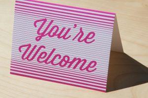 Варианты ответа на «спасибо» на английском
