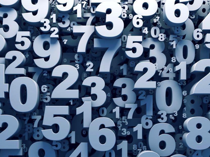Цифры от 1 до 100 на английском